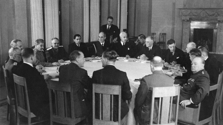 an introduction to the political history of the yalta conference